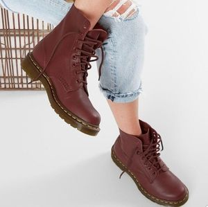 BNIB Dr. Martens Pascal Virginia Cherry Red Size 8